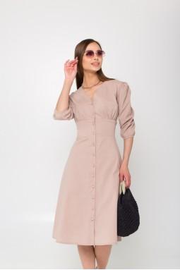 Платье Мелисса бежевый