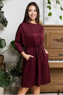 Платье Бони бордо
