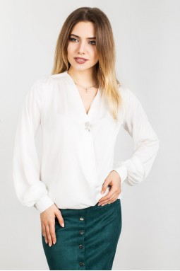 Блузка на запах 00667